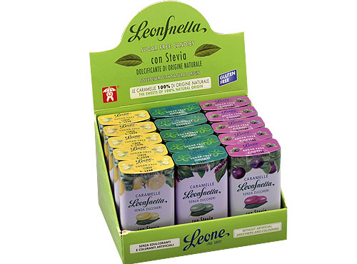 Assortimento Leonsnella mix Limone Mirtillo e menta scontato del 20